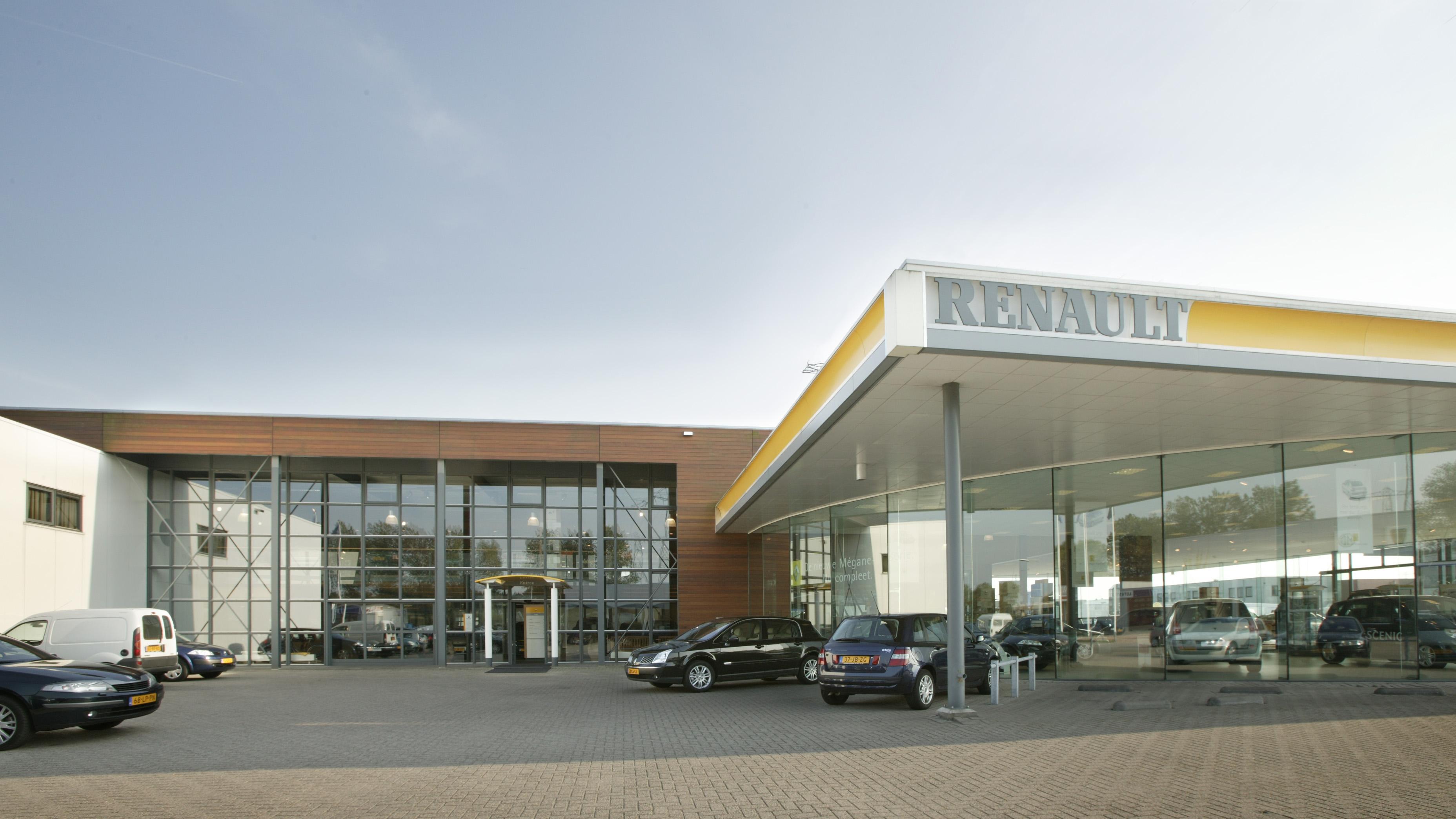 Showroom Renault Groningen